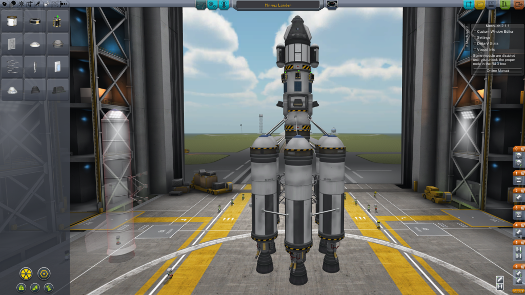 Etage launch - Minmus