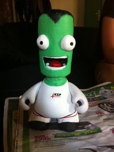 La statuette de Jeb par Dezax