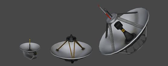 Les antennes de la 1.1