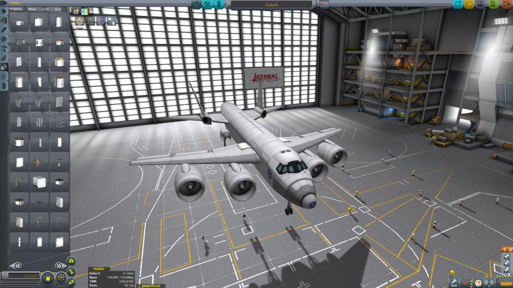 De nouveaux moteurs pour les avions gros porteurs.