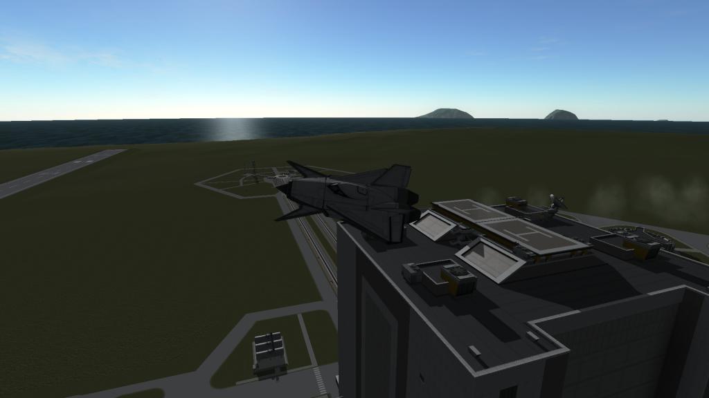 Cet avion utilise les tout nouveaux moteurs avec une poussée vectorielle.