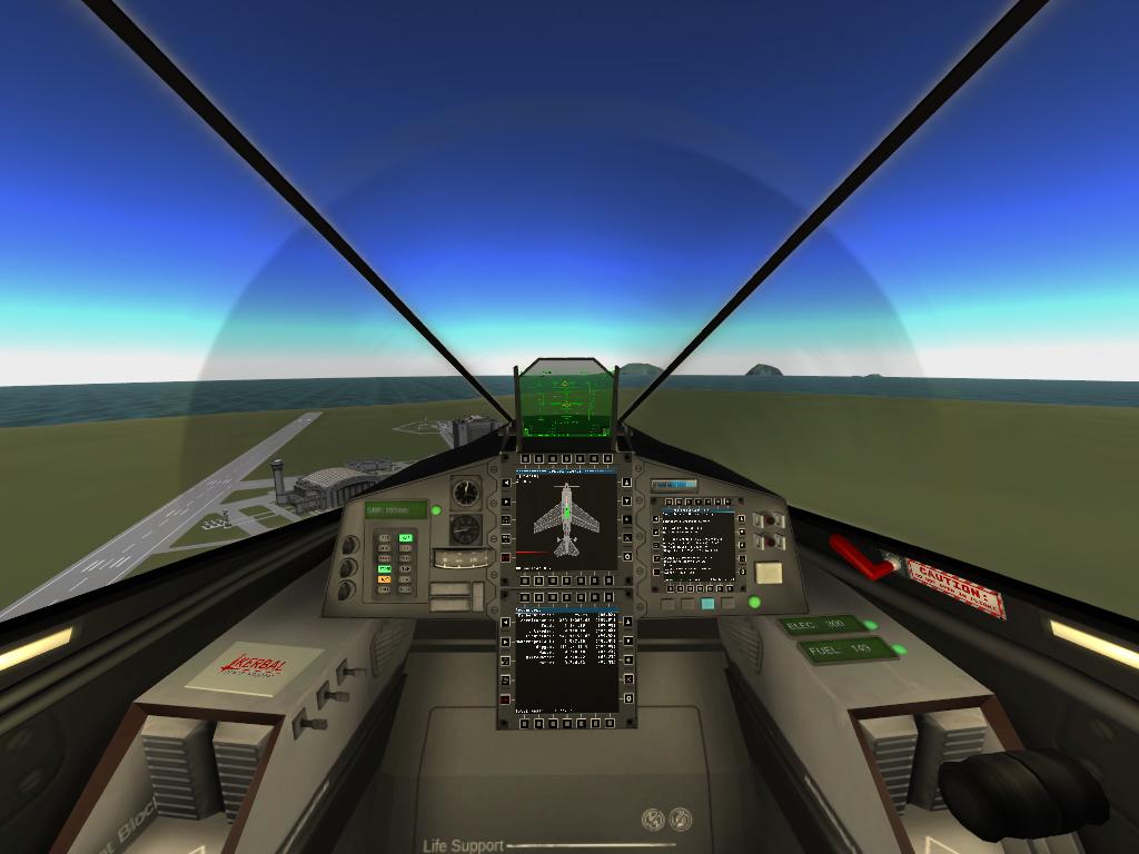Cockpit KAX