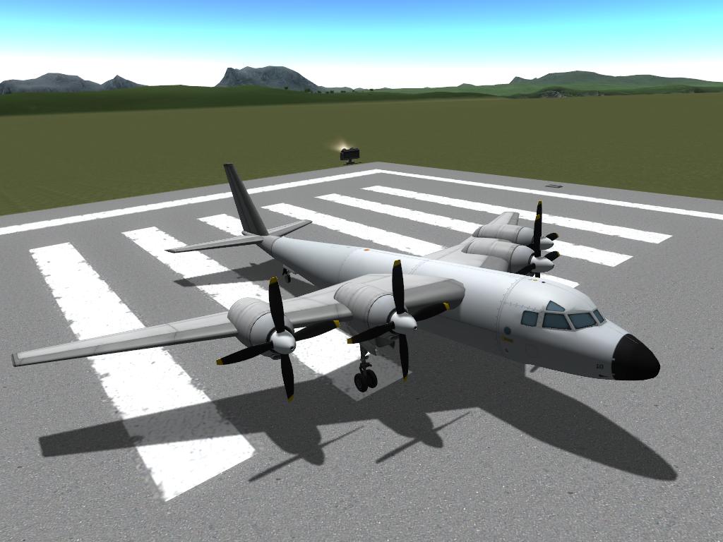 Heavy fuselage (fuel)